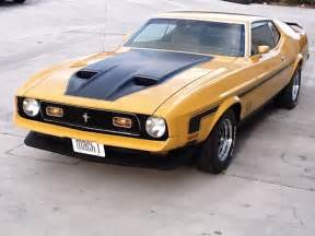 1972 ford mustang mach 1 fastback 153537