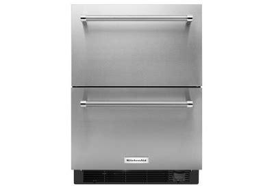 Kitchenaid Refrigerator Freezer Drawers by Kitchenaid Stainless Refrigerator Drawers Kudf204esb