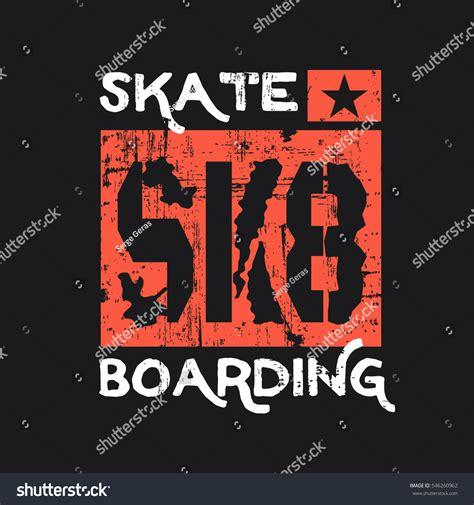 vector illustration on theme skateboard skateboarding
