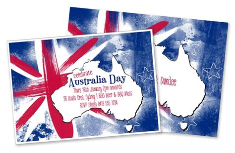 printable invitations online australia australia day party invitation diy printable digital