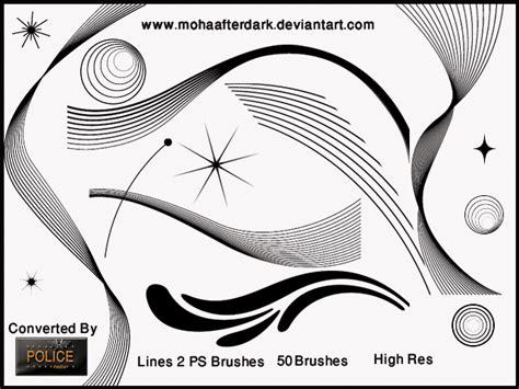 line pattern brushes photoshop lines 2 shape photoshop brushes brushlovers com