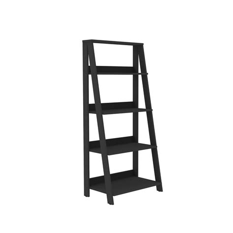 walker edison furniture company 55 in wood ladder