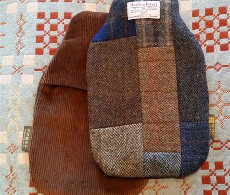 Tweed Patchwork - one of a 100 made harris tweed patchwork