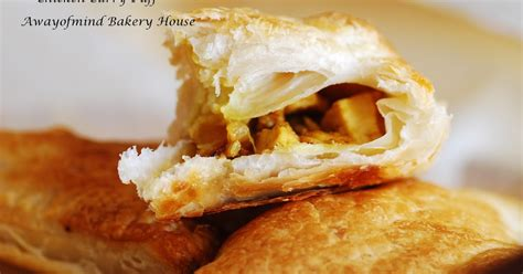 Chicken Curry Puff awayofmind bakery house easy chicken curry puff