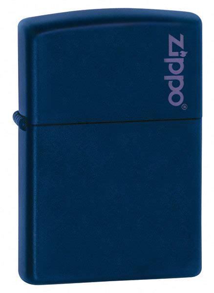 Korek Zippo Matte Navy zippo navy matte lighter with zippo logo
