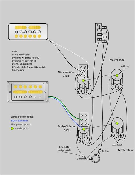 p90 one volume tone wiring diagrams 28 images p90