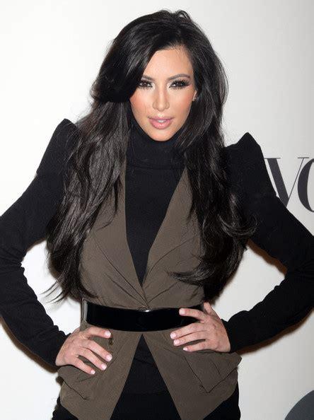 hairstyles for long hair kim kardashian kim kardashian curvy long hair styles