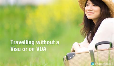countries indians can travel without visa or visa on