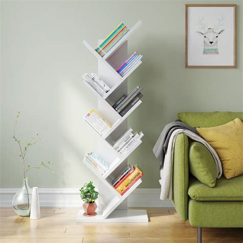 Tribesigns 9 Shelf Tree Book Tribesigns 9 Shelf Tree Book 28 Images Musely Olive