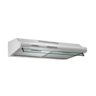 Penghisap Asap Kompor Modena jual modena cooker sx 6501v silver penghisap asap