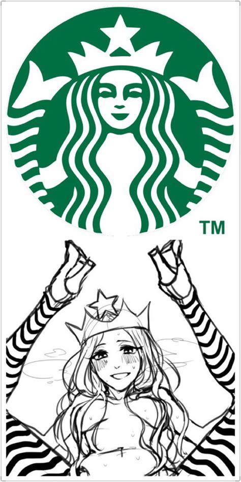 Starbucks Logo Meme - starbucks logo and the first draft