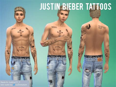 which justin bieber tattoo are you quiz justin bieber tattoos justin bieber and weightloss on
