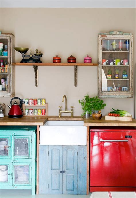 2 clever modern rustic upcycled designs my warehouse home vintage kitchens with modern rustic retro inspiration