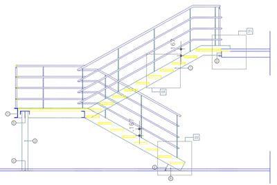 corrimano scale normativa scale in acciaio di sicurezza antincendio e per soppalchi