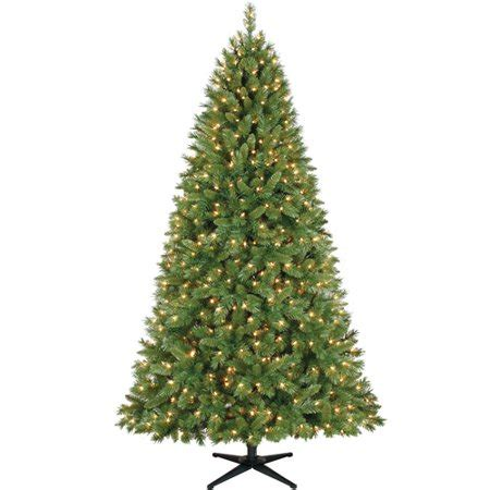 artificial christmas trees at wal mart time pre lit 7 5 kennedy fir artificial tree clear lights walmart