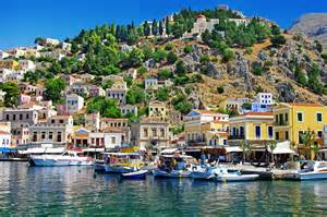 Neoclassical Homes Symi Dodecanese Greece Must See Places