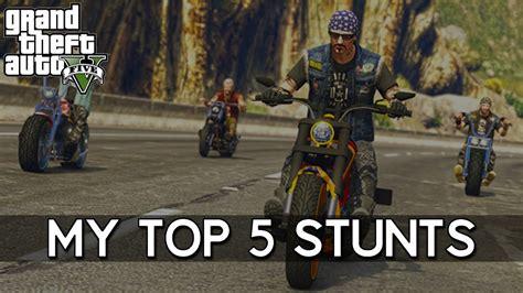 best motorcycle stunts top 5 motorcycle stunts gta 5