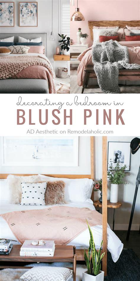 blush pink desk l remodelaholic pretty in pink blush pink bedroom inspiration