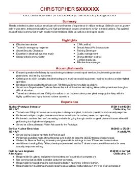 Army Sergeant Resume by 4 Enlisted Resume Exles In Chillicothe Oh Livecareer