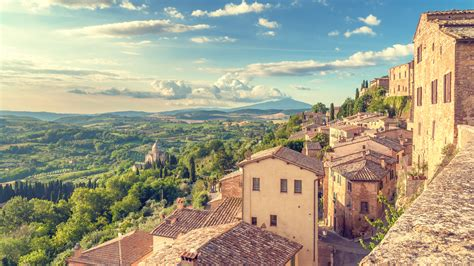 cottage 4 you tuscany as seen from the walls of montepulciano inspiration