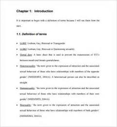 dissertation proposal template 14 free sle exle