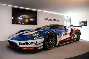 ford gt race car to compete in le mans next year