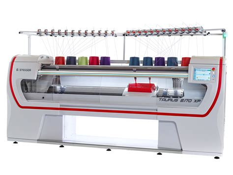 knitting machine steiger to show 3d flat knitting machine for complete