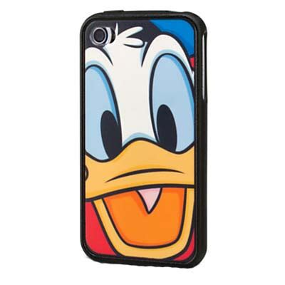 Donald Duck Yellow Iphone 4 4s Casing Cover Hardcase your wdw store disney iphone 4 donald duck black