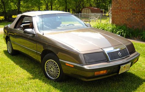 1988 Chrysler Lebaron by 1988 Chrysler Lebaron Convertible