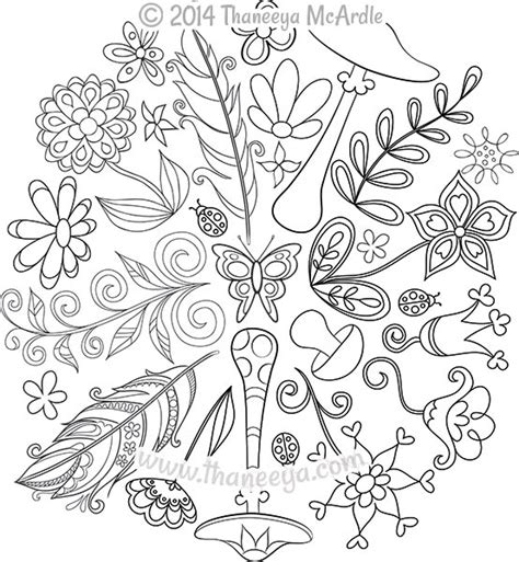 nature mandala coloring books nature mandalas coloring book by thaneeya mcardle