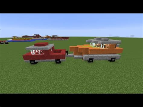 how to build a boat trailer youtube minecraft how to build a truck boat trailer youtube