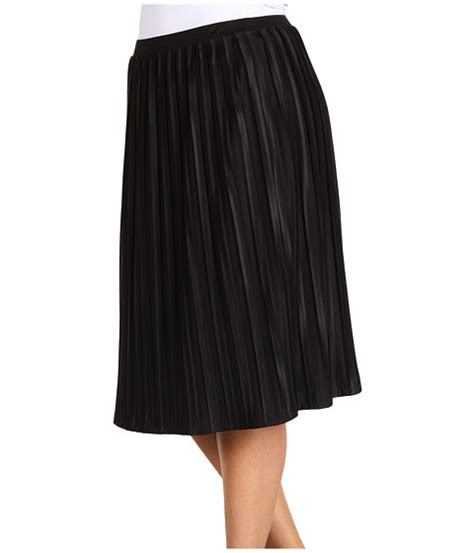 search jones new york plus size pleated skirt black