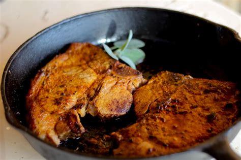 simple pan fried pork chops recipe dishmaps