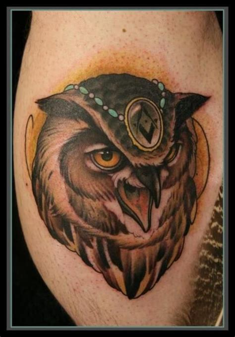 cool owl tattoo design cool owl tattoo design tattoomagz