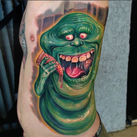 ghostbusters tattoo designs slimer ghostbusters best ideas gallery