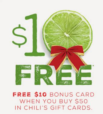 Chili S Gift Card Promo Code - the top restaurant deals promos freebies discounts deals coupons offers