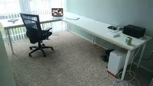 Linmon Desk by Linnmon Mega Corner Desk Hackers Hackers