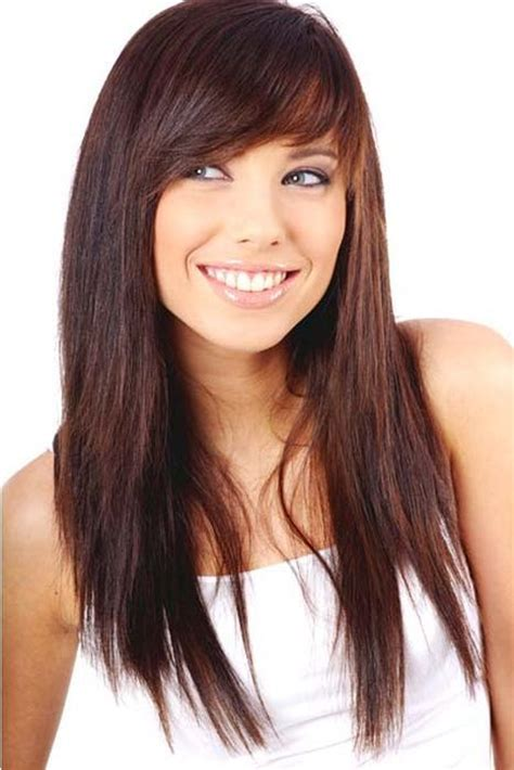 awesome bangs hairstyles long hairstyles with bangs ideas to look awesome long