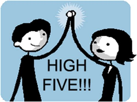 High Five Meme - reach out and high five someone kim kircher