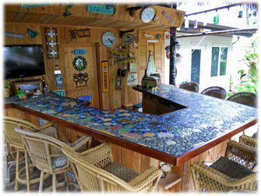 mosaic tile bar top 30 best images about tiki mosaics on pinterest ceramics