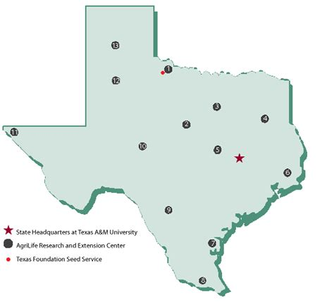 where is texas located on the map texas map texas foundation seed service