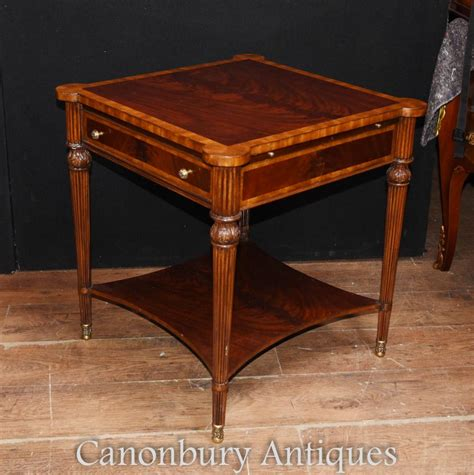 mahogany cocktail table pair regency mahogany side tables cocktail table