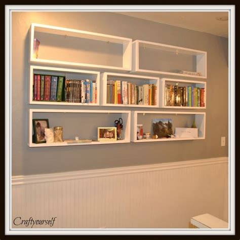 diy floating bookshelves 25 best ideas about floating bookshelves on