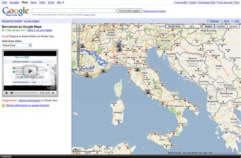 maps mobile in italiano maps view approda in italia