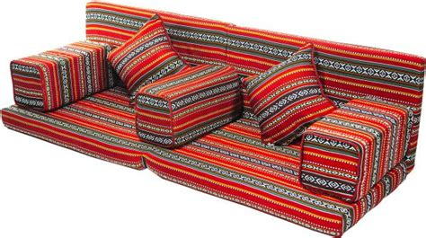 Red Bedroom Sets comfy red with black arabic sofa folding 7pcs majlis set