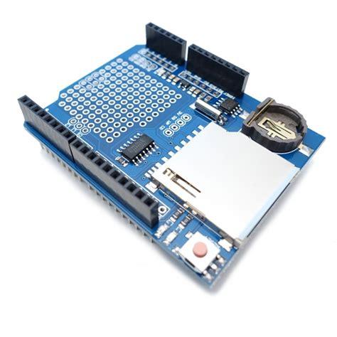 Data Logger Shield For Arduino Data data logger module shield v1 0 for arduino uno with sd card slot logging recorder module ane