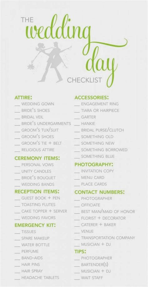 Wedding Planning Accessories by Wedding Reception Decoration Checklist Wedding