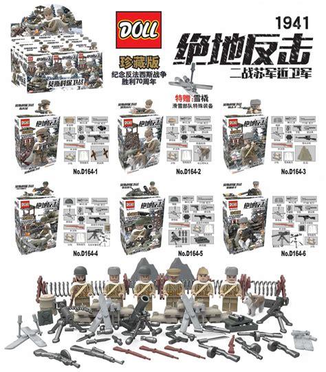 Mainan Bricks Army Ww Ii Set By Doll popular lego army buy cheap lego army lots from china lego army suppliers on aliexpress