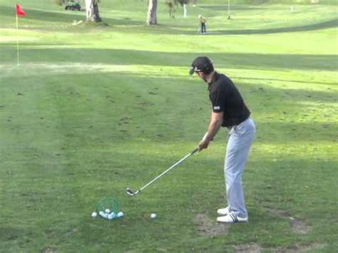 mike weir golf swing mike weir 3 wood golf swing golf videos from around the