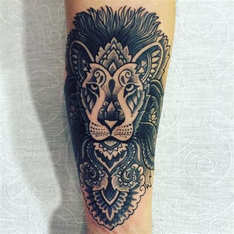 beautiful lion tattoos on forearm contemporary styles